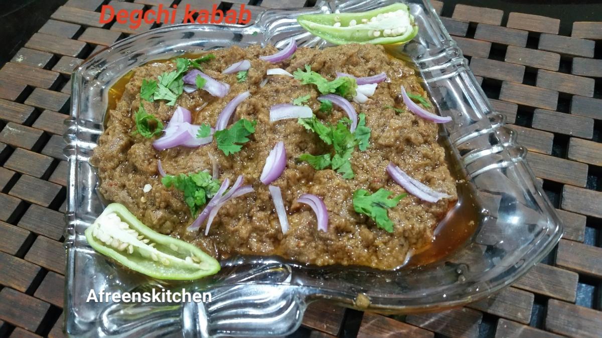 Smokey Degchi Kabab/Resha kabab